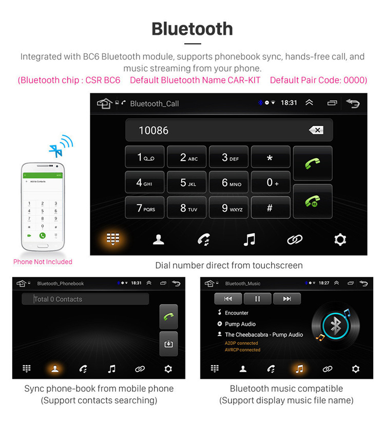 9 inch Android 8.1 Car Stereo GPS Navigation for  2005-2012 Mercedes Benz ML CLASS W164 ML350 ML430 ML450 ML500