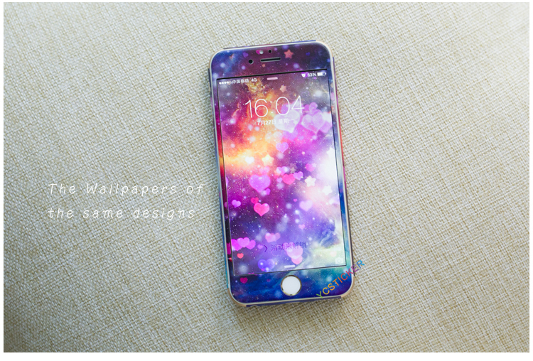 Wholesale Mobile Phone Accessories Full Body Sticker Decal for iPhone Skin 3 M material