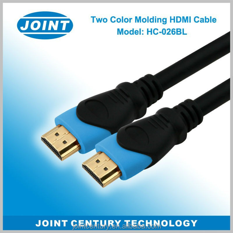 2015 Anti-interference metal high Speed HDMI to HDMI Cable Gold Digital Audio Video 5M Cable 1080p 4K 3D W Ethernet diameter 7.5