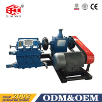 BW250 high pressure triplex mud pumps/ plunger slurry pumps