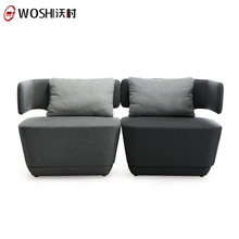 Attractive Modern Fabric Cover Reception Lounge Room Latest Sofa Set Designs And Prices