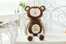 YangZhou toy manufacturer supply cute stuffed soft toys plush monkey with long arm
