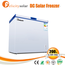 Environmental-friendly 12v freezer solar power for school
