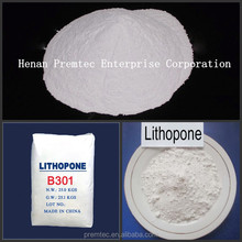Premtec paint/coating use lithopone msds b301/b311 28-30%