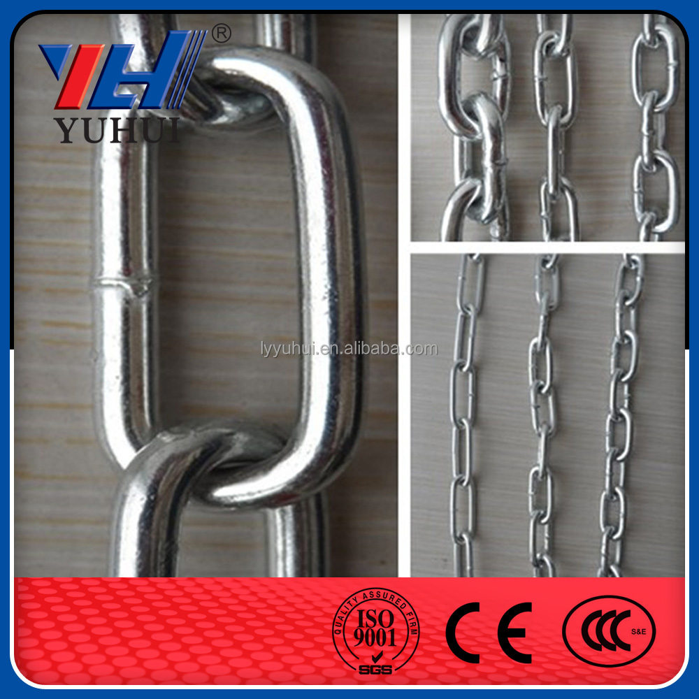 straight welded Electric Galvanized models of long chains