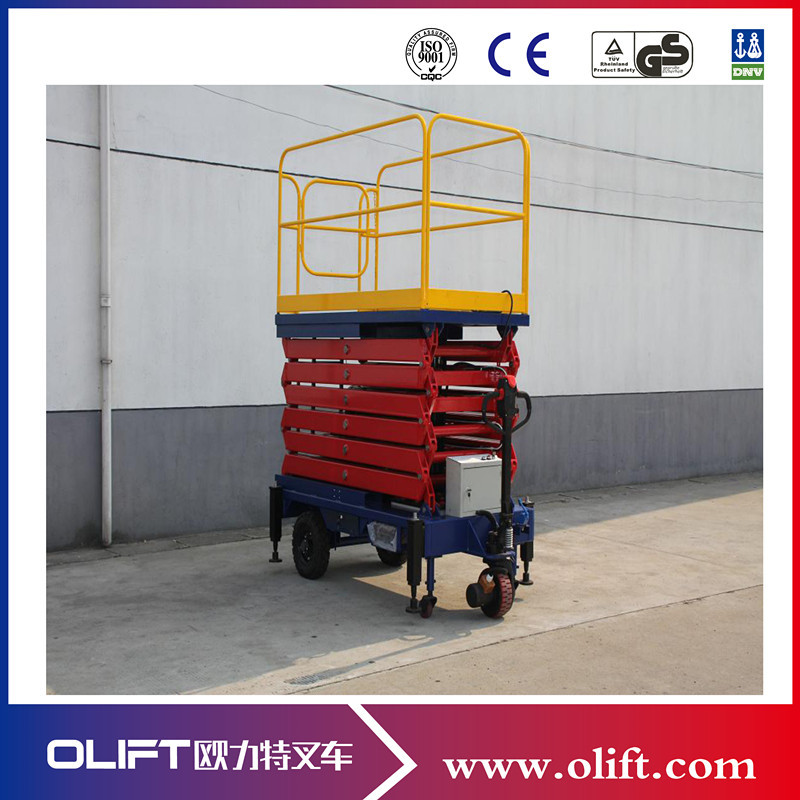 New design Mobile Hydraulic Lift Platform/Truck-Mounted Scissor Lift