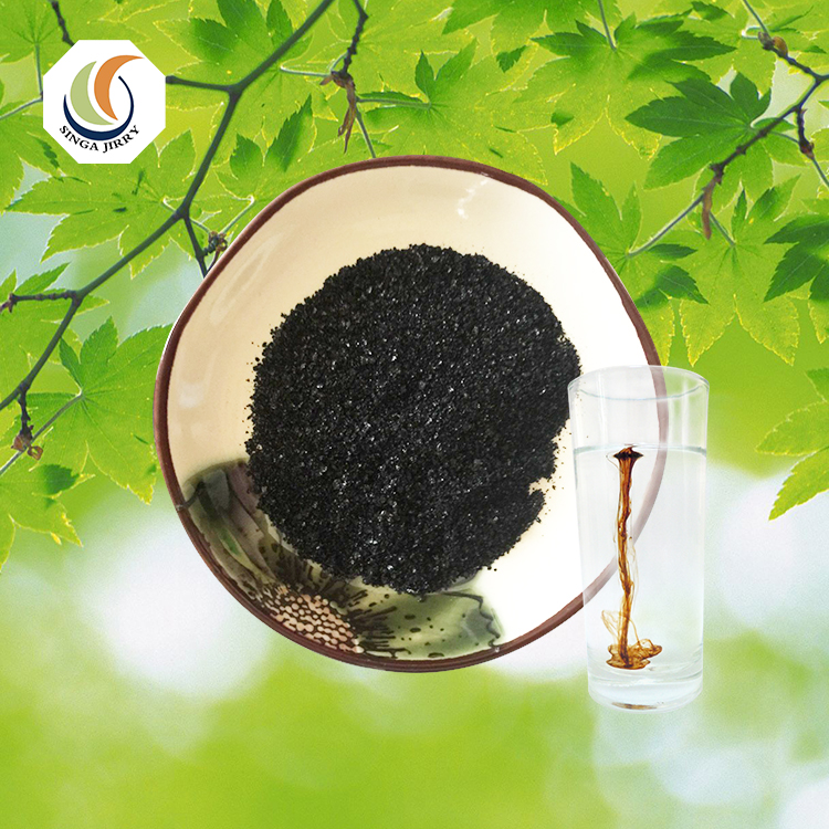 Soluble Organic Fertilizer Powder Potassium Humate Granular