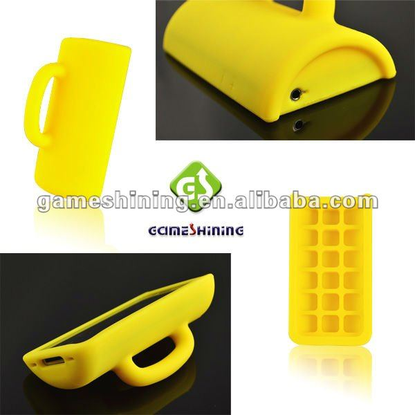 Newest Mug Silicone Case For IPhone 4 /IPhone 4s
