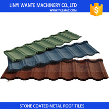 Wante bond roof tiles with a wide range rich colors give you a better life to enjoy happy time