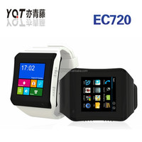 Capacitive Touch Screen WCDMA Android 4.4 Smart Mobile Watch Phones