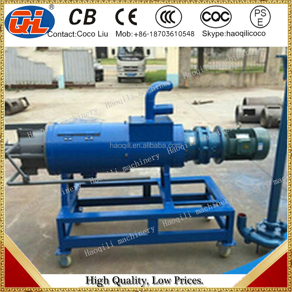 Screw press cow dung dewater Machine | cow dung cleaning machine | cow dung drying machine