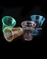 Food Grade High Quality Plastic PET Cups With Dome/Flat Lids