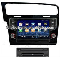 8inch TFT LCD Touch Screen Car DVD GPS with built-in Bluetooth Radio Ipod for VW Golf 7
