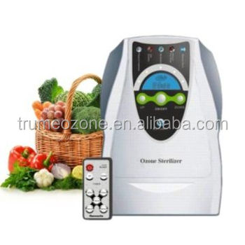 Remote control Ozone Purifier with ozone 500mg/h and LCD timer