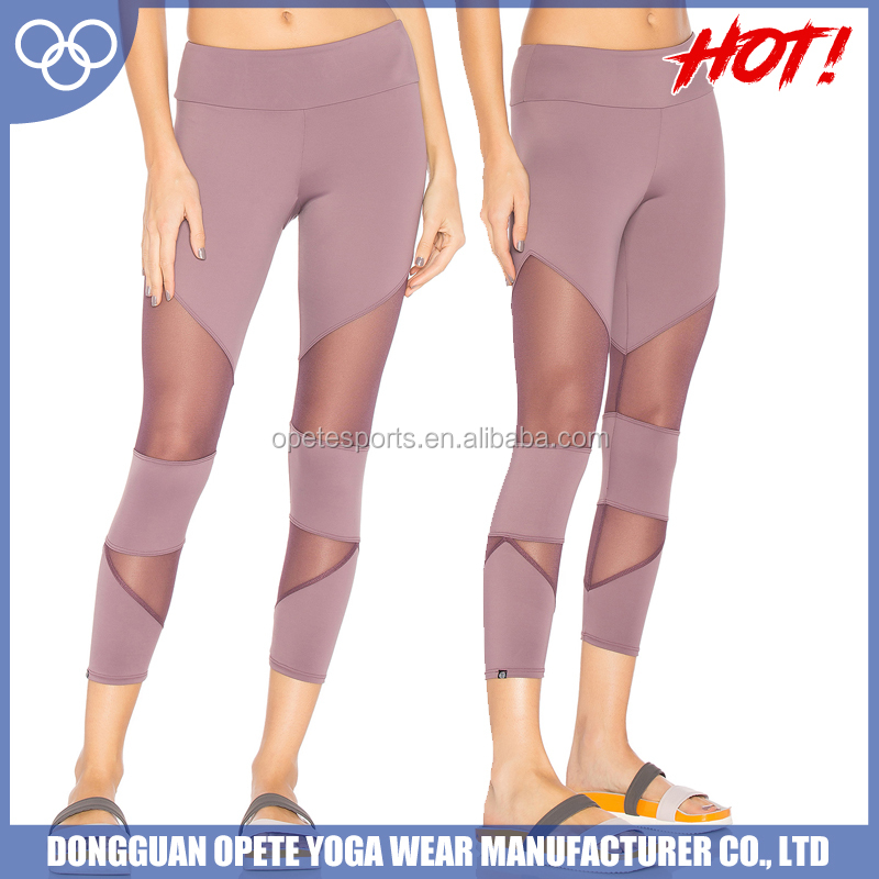 OEM factory 2017 new wholesale women custom sublimation yoga pants