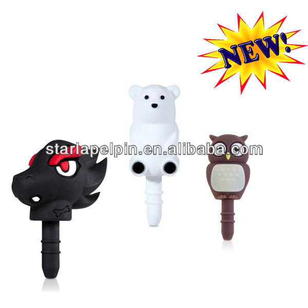 Cute Decorative Custom Made Animal Anti Ear Plugs