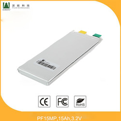 LFP Battery pack PF15MP 3.2V,15Ah normal capacity lithium iron phosphate battery