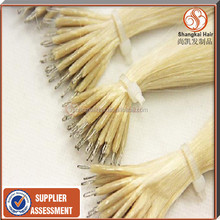 Wholesale Fashion Virgin Double stranded Nano hair products