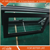Made in China Exterior Tempered Glass double glazed aluminium Garden Windows For Sale