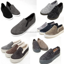 2014 2015 woman slip-on sneakers casual shoes Made in Korea 1 pair available various styles