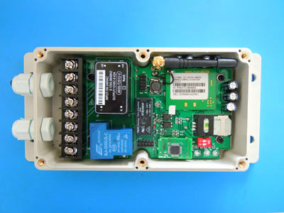 GSM Relay switch control box (Big power , QUAD band)
