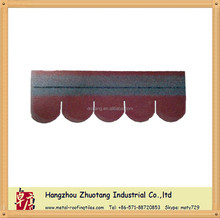 Fish-scale Asphalt shingle/Architectural Fiberglass Roof Tiles