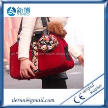 Oxford cloth Pet handbag Pet Tote Travel luggage carrier bag