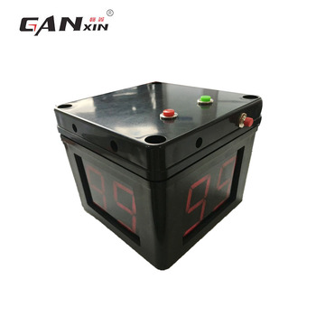 Ganxin China Manufacturer AC Power Battery Powered  4 Sides Black Poker Timer