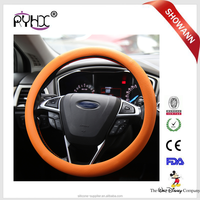 Colorful Non-Toxic Heat Resistant Plastic Silicone 14 Inch Steering Wheel Covers
