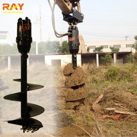 Digging machine for sale earth auger drilling machine for excavator used