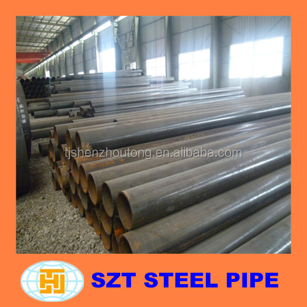 API 5L Round Section Shape and Fluid Pipe Application ERW steel pipe alibaba china