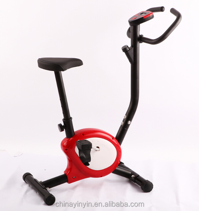New folding Exercise machine strong cover upright trainer X bike