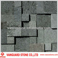 Natural stone lava bricks