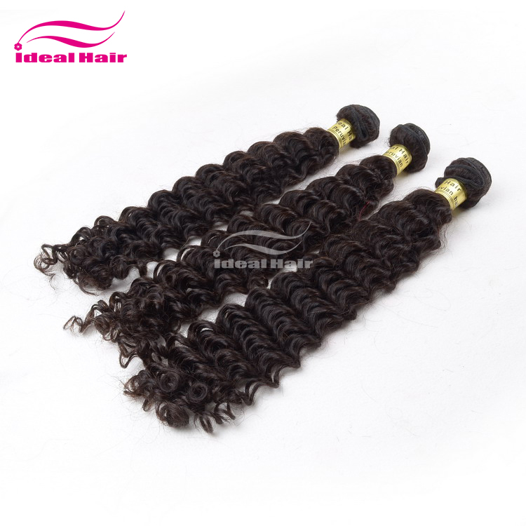 Full cuticles attached peruvian human hair pony tail no dry end
