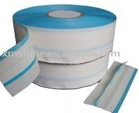 High quality PP Blue line adhesive side tape for baby diaper