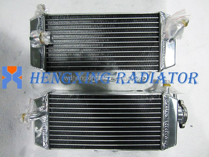 FOR SUZUKI RMZ450 2005 MOTORCYCLE ALUMINUM RACING RADIATOR