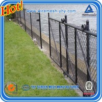 decorative metal chain link fence