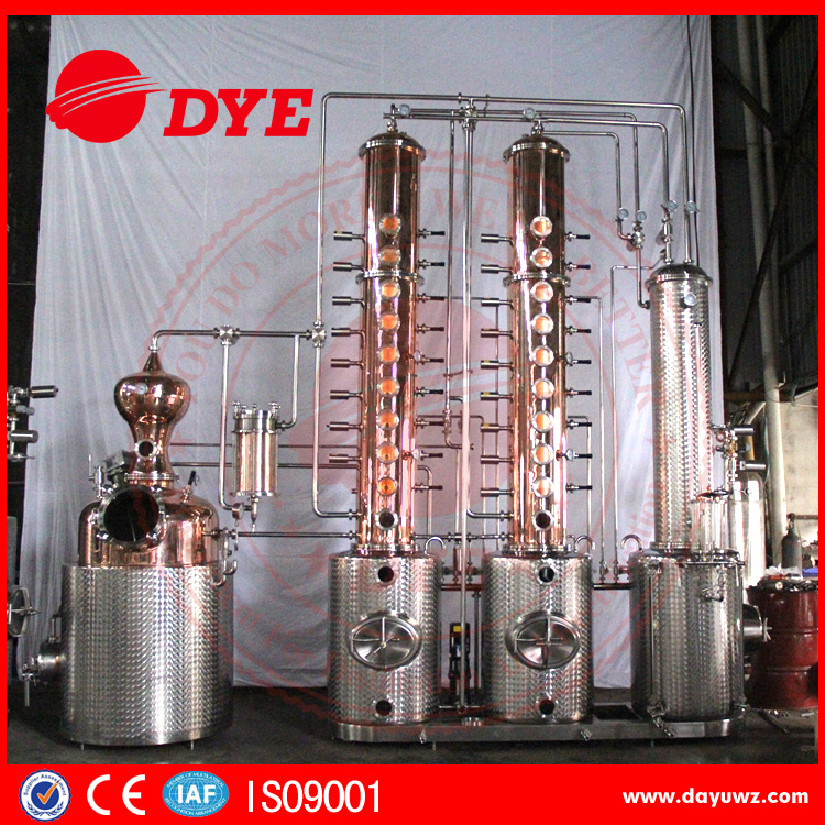 500L ethanol industrial alcohol distillation equipment,machine make alcohol