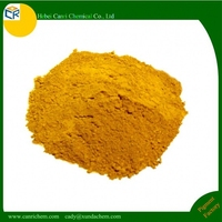 High quality yellow mulch colorant Iron oxide yellow 313 for wood/plastic/rubber/wpc mulch