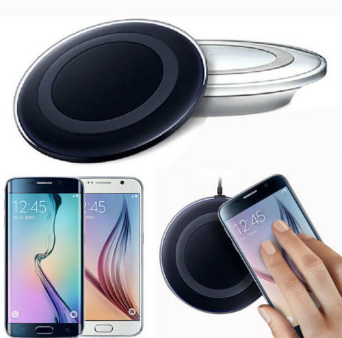 High quality QI wireless charger pad wireless phone charger for Samsung S6 and for Android and IOS