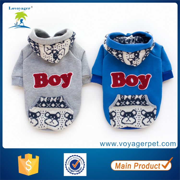 Lovoyager Multifunctional chinese dog clothing with high quality
