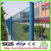 Hot sale cheap yard guard welded wire mesh fence bending fence