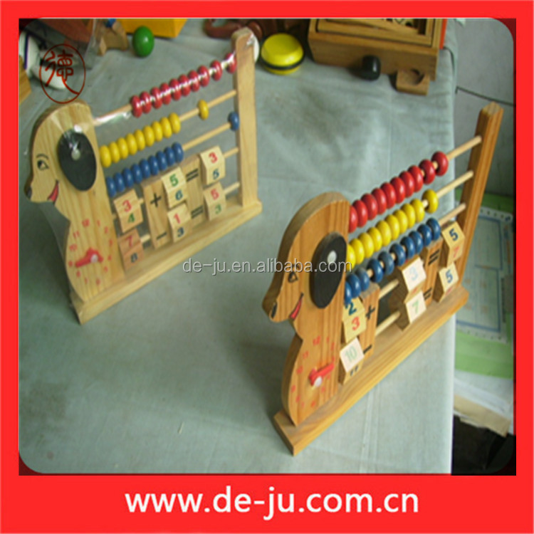 Shape Dog Kids Toy Wholesale Wooden Toy
