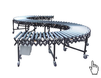 Motorized roller conveyor price with ISO CE TUV approved
