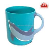 ICTI certificated custom make small pp plastic cups with handle and lid