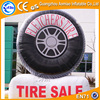 Big sale inflatable tire balloon, inflatable tire advertising