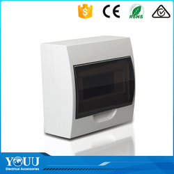 YOUU China Top Ten Selling Products 6 Ways Power Plastic Distribution Box Electrical Switchboard