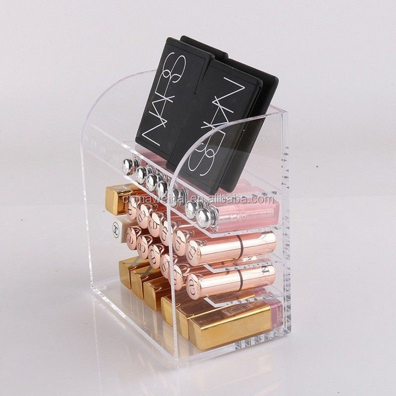Clear Plexiglass  Perfume Shop Display Rack