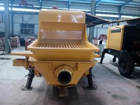 HBTtrailer concrete pump machine high-rise and long distance projects using concrete pump with diesel engine
