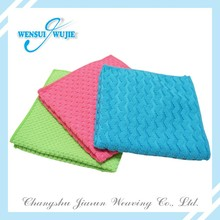 2017 New design 100% polyester wipe cleaning best cleaning cloths